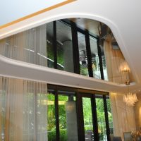 Ceiling Mirrors - Featherweight Foil - One Hyde Park