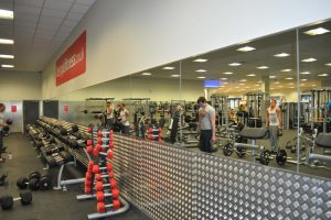 Checker Plate Mirror Protection - Gym Mirrors
