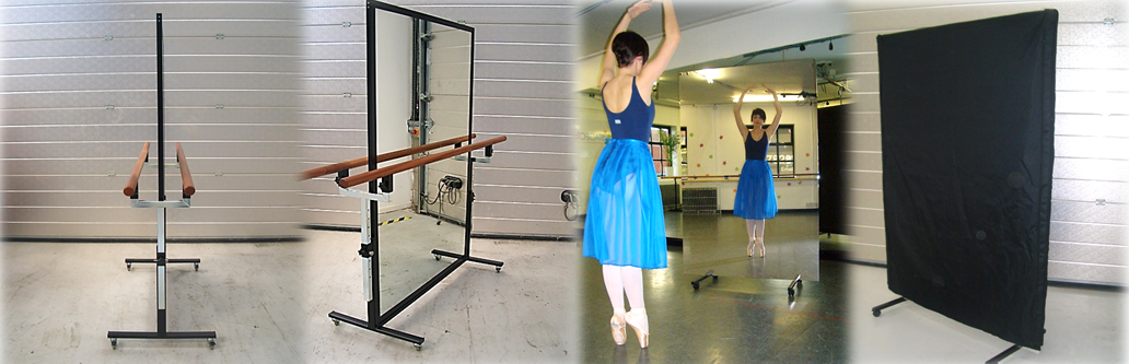 Portable Mirrors & Barres