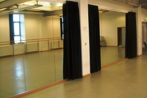 Studio Curtains - Mirror Protection