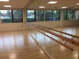 Dance Mirrors & Double Tier Barre