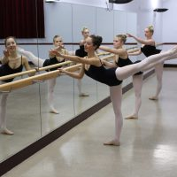 Dance Mirrors with Removable Barres