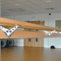Image 18 Single Tier Ballet Barre Bracket