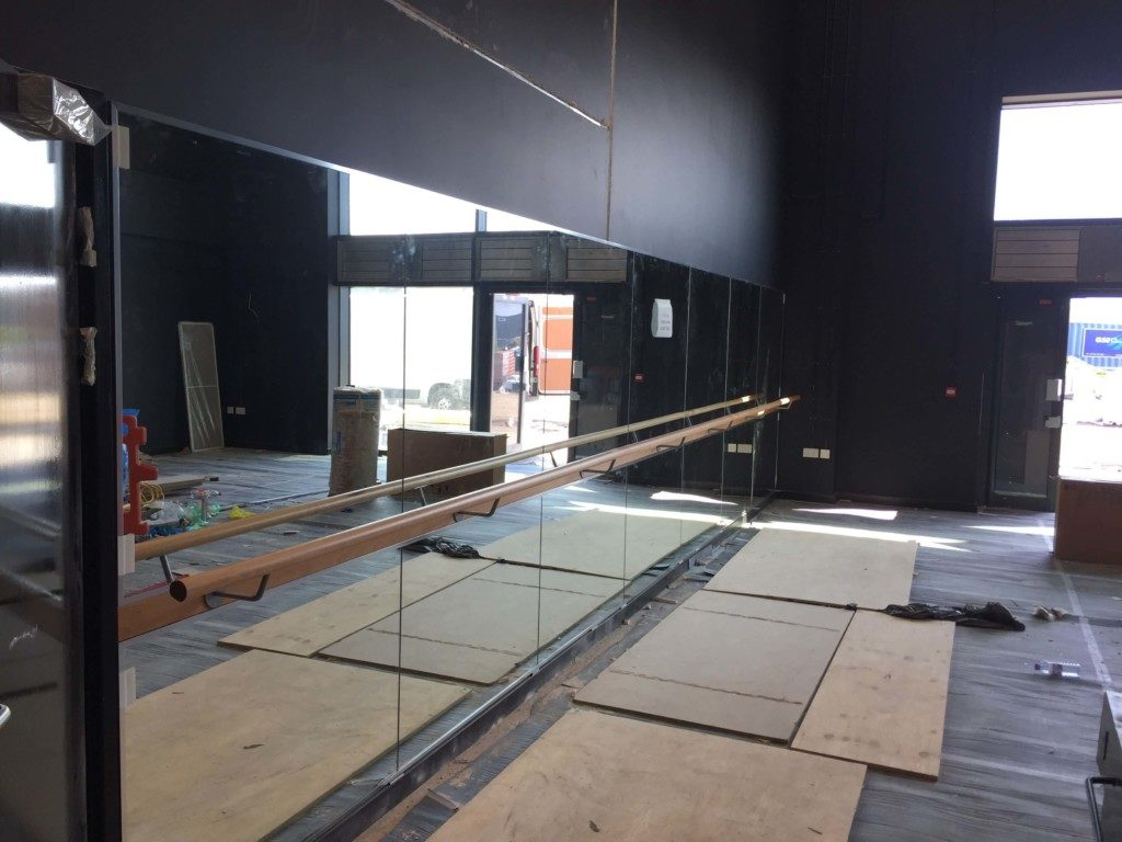 Mirror and Barre Installations - Eastbrook School