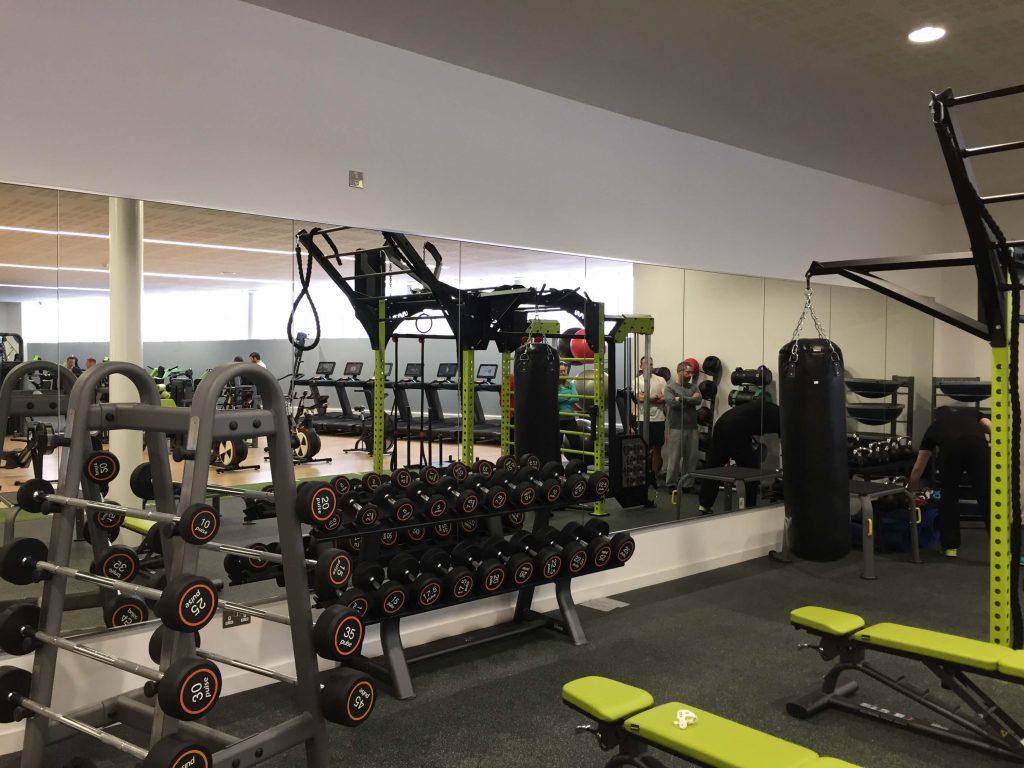 Irvine Leisure Centre Fitness Studio Mirrors