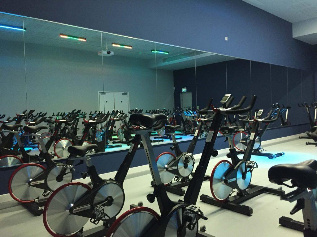 Spin Studio Gym Mirrors