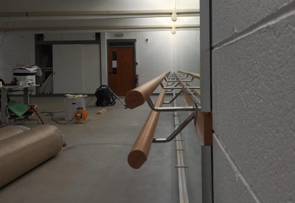 Mirror and Barre Installations - Averon Centre