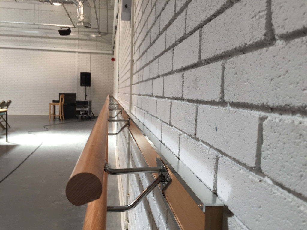 Wall Mounted Ballet Barres - Double Tier