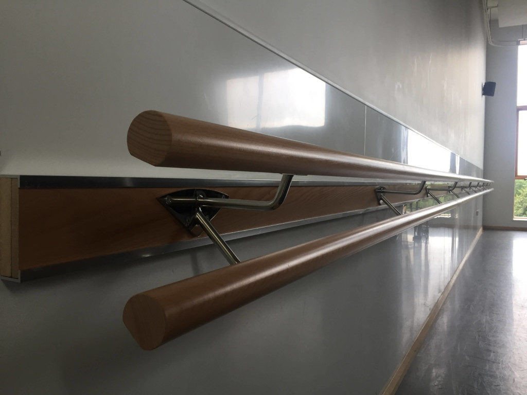 Wall Mounted Ballet Barres