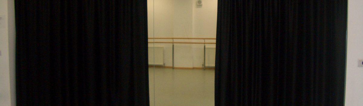 Dance Studio Curtains