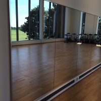 Large Scale Gym Mirrors - Leisure Centres