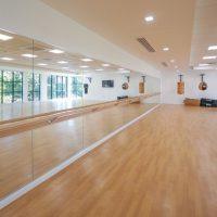 Hope University Gym Mirrors & Barres